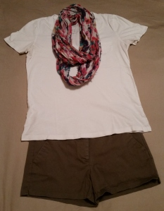 Outfit 3 summer white t
