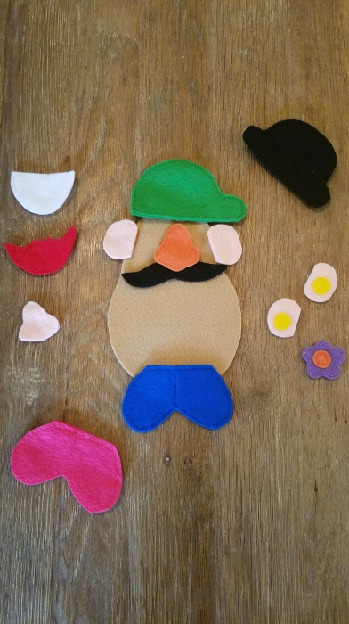 Mr Potato Head parts