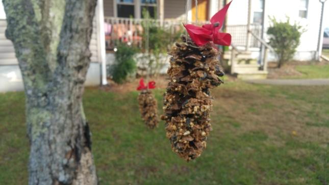 Hanging Pinecone